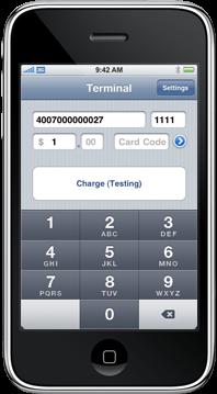 iPhone Screenshot Terminal